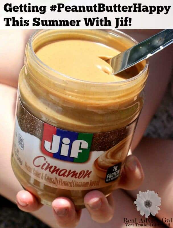 Getting #PeanutButterHappy This Summer With Jif!