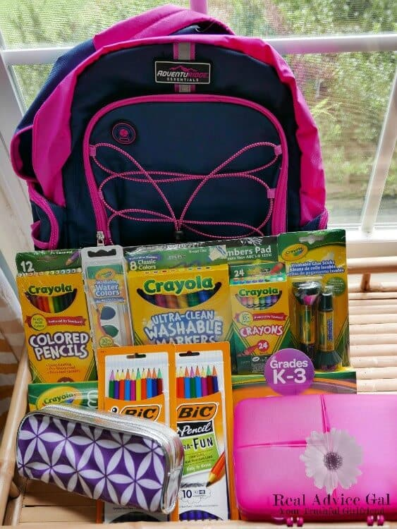 ALDI Giving Backpacks