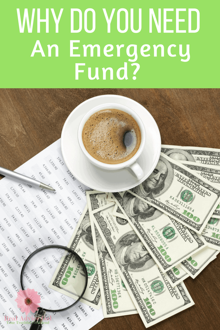 Why Do You Need An Emergency Fund?  This post tells you all about reasons why everyone needs to start building their fund!