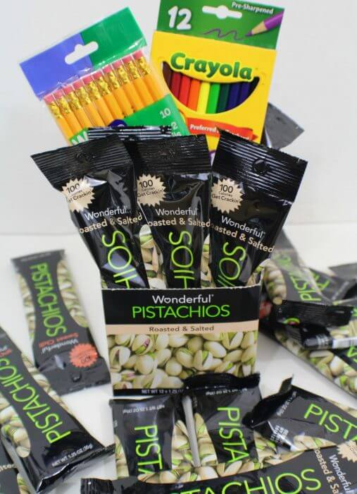Wonderful Pistachios is an amazing sponsor of our Giving Back Packs 2016 Event