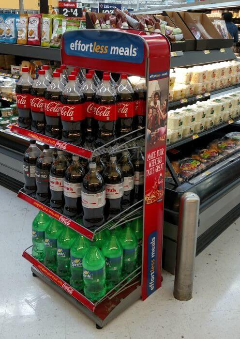 effortless meals coca cola at walmart