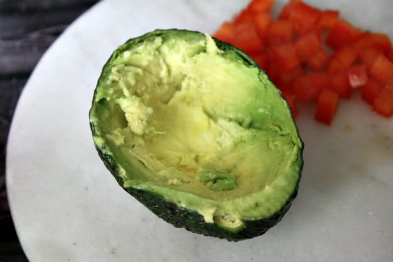 tuna stuffed avocados recipe