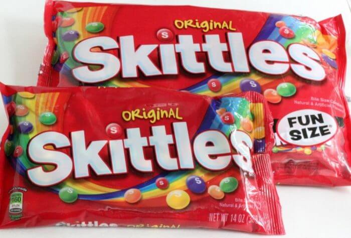 Skittles are a great addition to any homegate party
