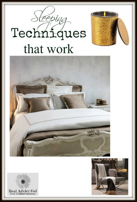 Ways to get some sleep