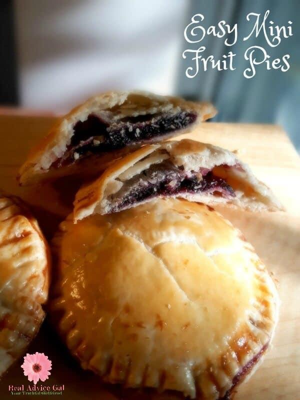 Easy Mini Fruit Pie Recipe