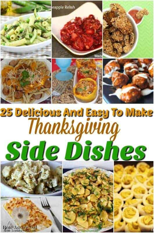25 easy thanksgiving side dishes