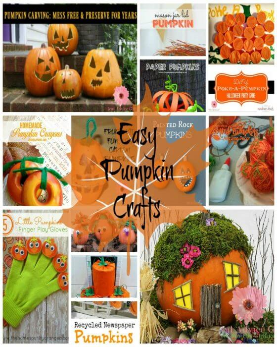 Pumpkin Crafts That You Kids Will Love
