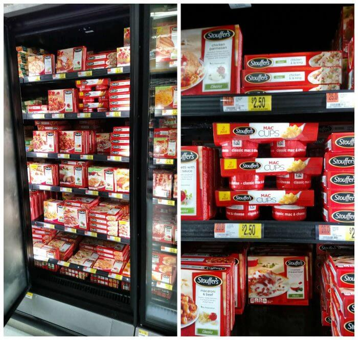 Stouffers Classic Mac N Cheese can be found at Walmart