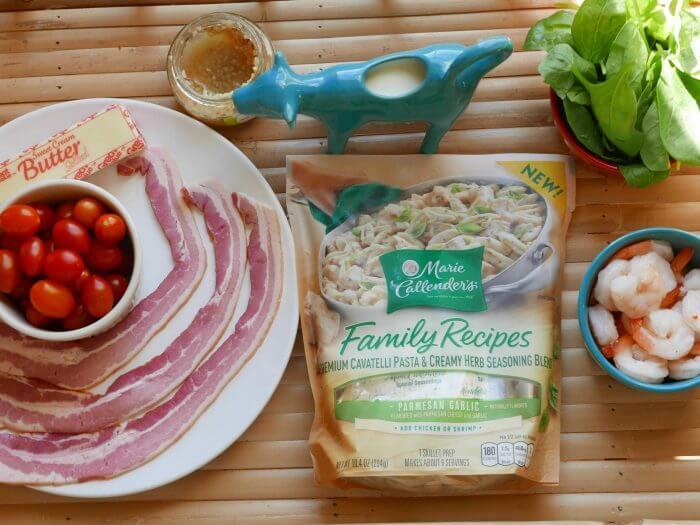 Easy Parmesan Garlic Chicken Pasta Recipe