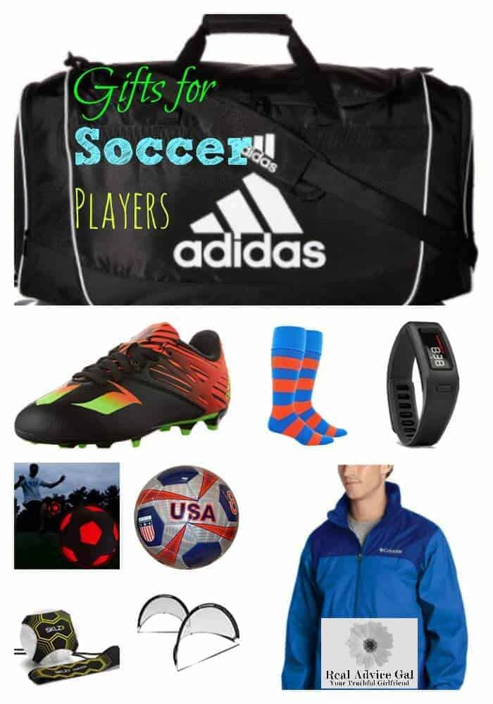 Great Gifts For Soccer Players Real Advice Gal