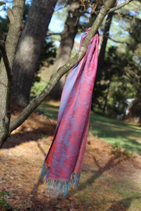 Sol alpaca scarves are simply beautiful