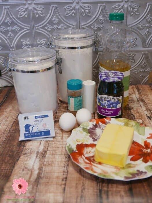 Sufganiyah Ingredients