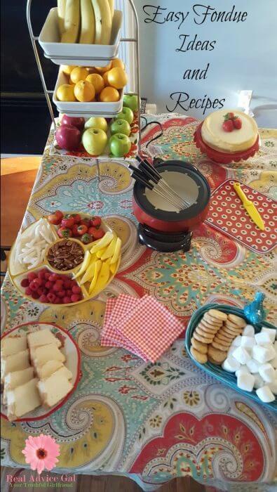 easy fondue recipe ideas