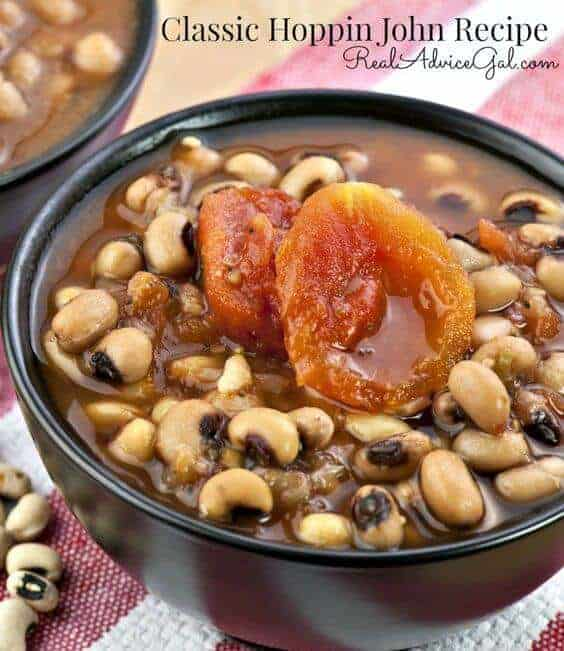 Celebrate the new year with this delicious Classic Hoppin John Recipe