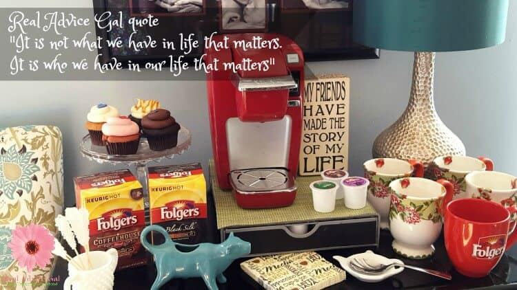 Coffee party ideas for adults