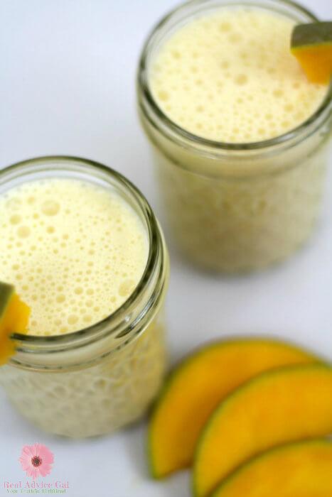 Mango Julius Milkshake Mocktail