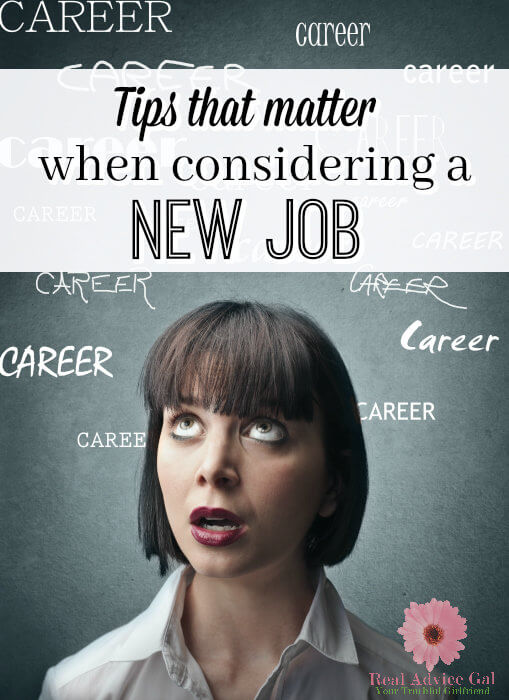 Change your career with a new job