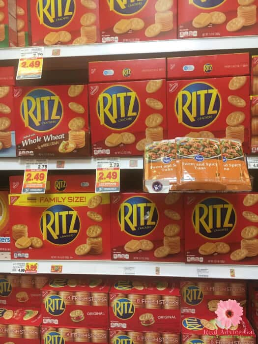 RITZ Crackers at Kroger