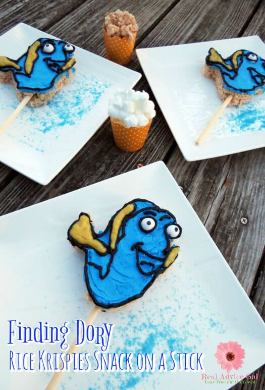 Finding Dory Rice Krispies Snacks Recipe