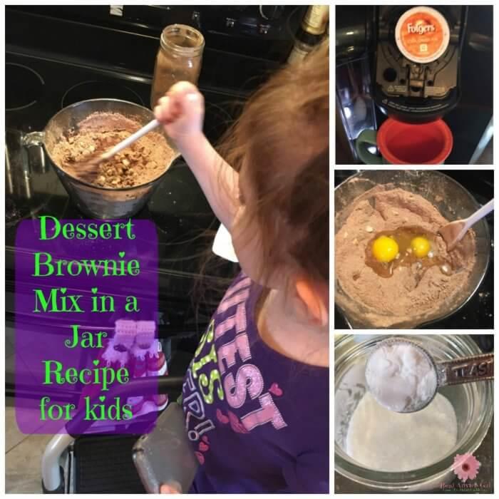 how to make brownies in a jar