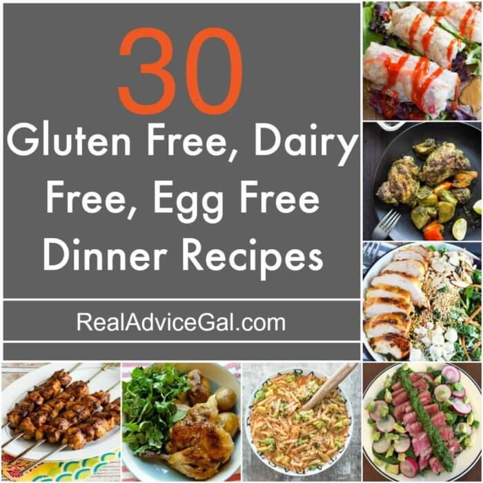 Gluten Free Dairy Free Egg Free Recipes