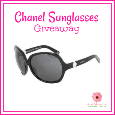 Accessorize this summer with a designer sunglasses. Hurry and join our Chanel Sunglasses Giveaway