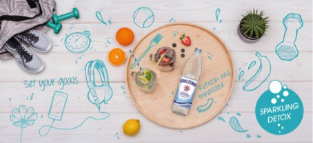 Have a healthy body and challenge yourself to avoid sugary beverages, coffee, tea and alcohol. Check out the Gerolsteiner Sparkling Mineral Water detox challenge.