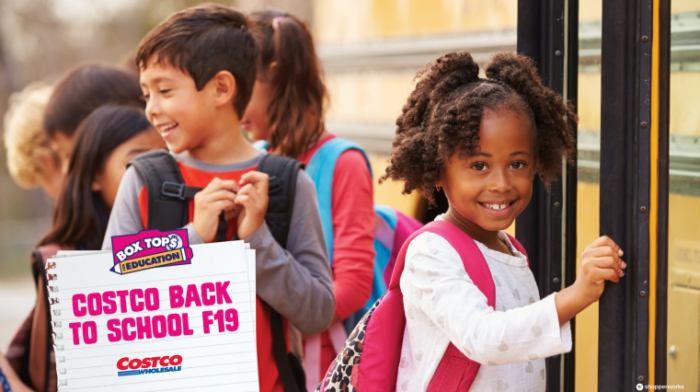 Support your child's school with Box Tops for Education.