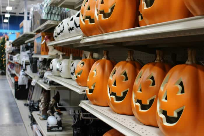 Save big on Halloween decorations at At Home Stores