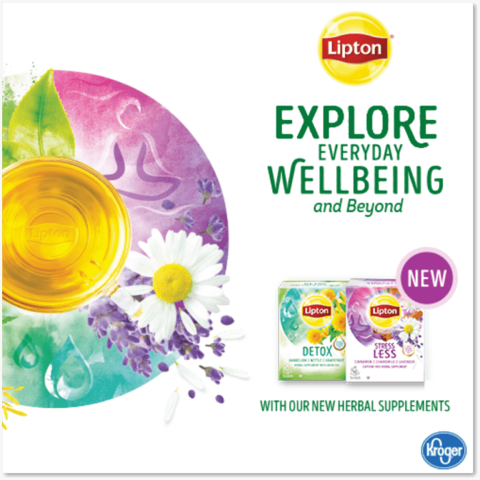 Lipton Herbal Tea at Kroger