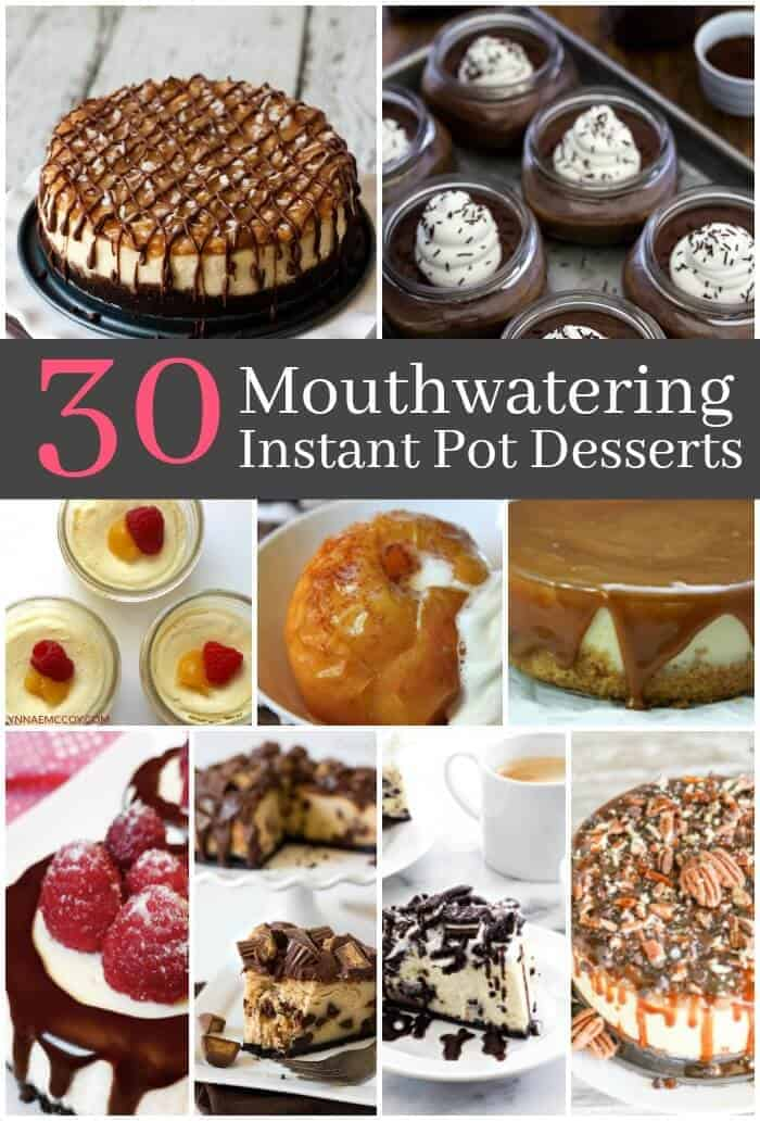 Did you know that you can make desserts using your instant pot? Here are instant pot pressure cooker dessert recipes that you should try!