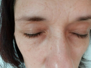 Have you tried an Eyelash Enhancing Serum? I tried one and I'm documenting my progress. Here's my before photo.