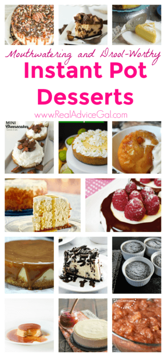 Easy, mouthwatering and drool-worthy instant pot pressure cooker dessert recipes that you should try now