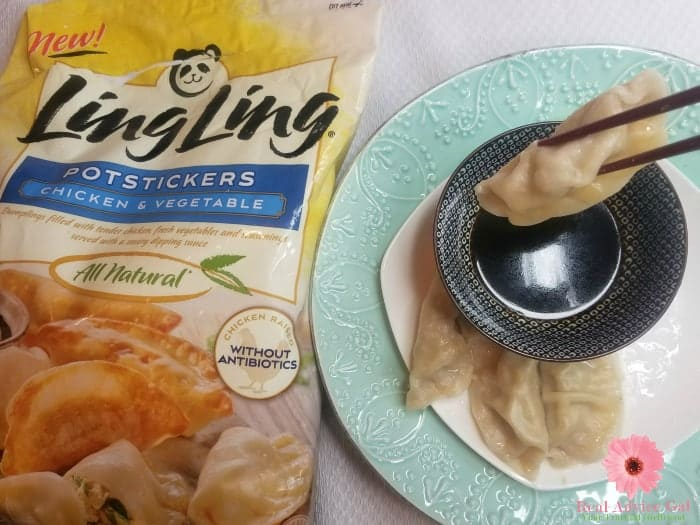 Grab some Ling Ling potstickers now. Make sure to use the $2 off coupon for any Ling Ling Entree or Appetizer