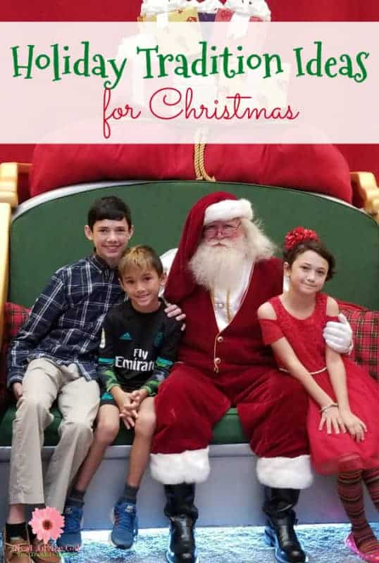 Family holiday tradition ideas for Christmas