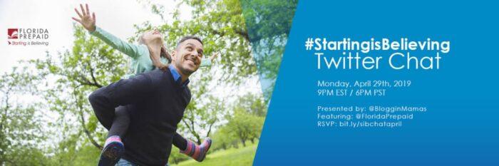 #StartingIsBelieving Twitter Party 4-29-19
