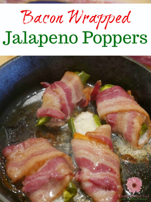 Jalapeno Poppers Wrapped in Bacon Recipe