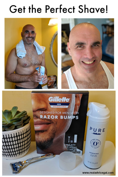 The Perfect Military Shave with Gillette SkinGuard - Real
