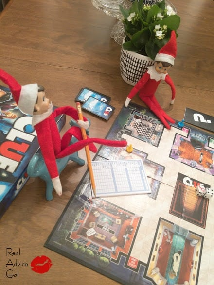 Elves playing Clue