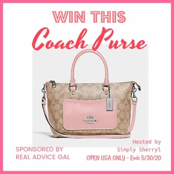 Here's your chance to win a brand new Coach purse!